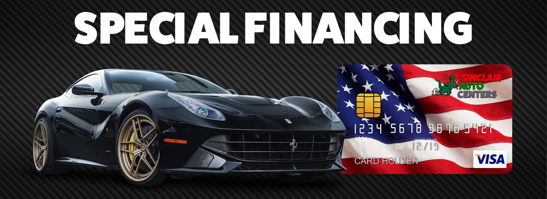 sinclair-financing